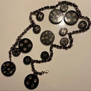 Chanel Runway Medallion Charm Belt